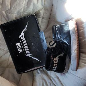 Metallica x Van's shoes